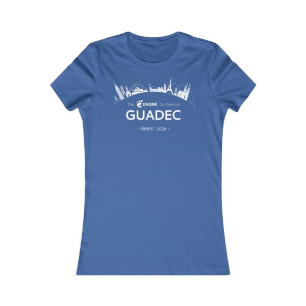 2020 GUADEC Women's Tee (European)