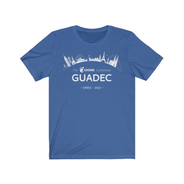 2020 GUADEC Short Sleeve Tee (European)
