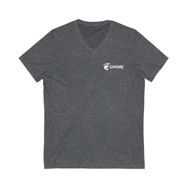 Short Sleeve V-Neck Logo Tee