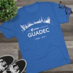 2020 GUADEC Tri-Blend Tee (USA)