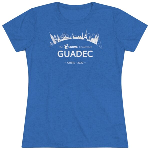 2020 GUADEC Women's Triblend Tee (USA)
