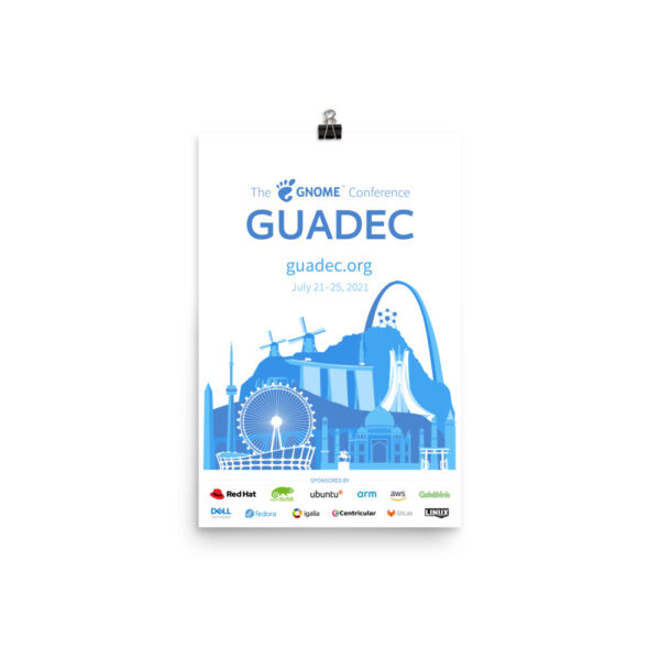 GUADEC 2021 Poster